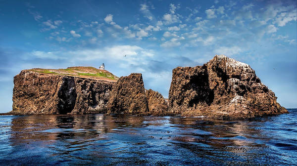 Photograph - Looking West At Anacapa Island by Endre Balogh