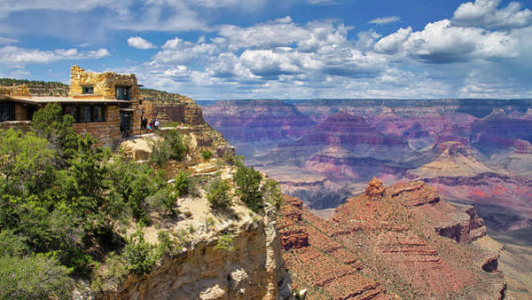 Wall Art - Photograph - Lookout Studio Grand Canyon by Jerry Fornarotto