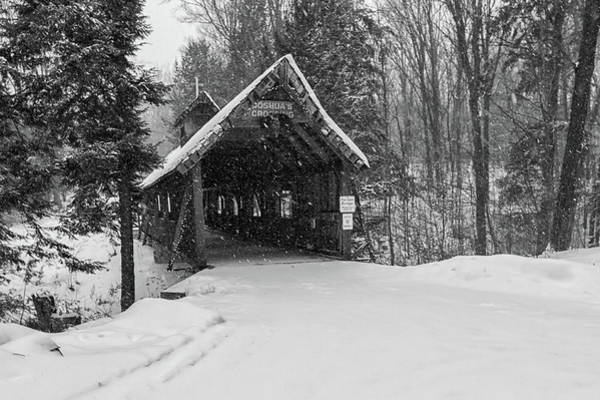 Photograph - Loon Song Covered Bridge 3 by Heather Kenward