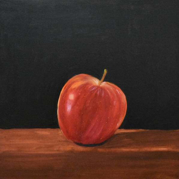 Painting - Lopsided Apple by Emily Warren