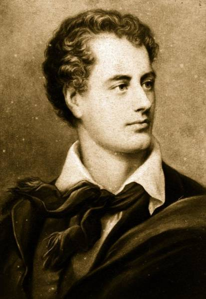 Poet Photograph - Lord Byron by Hulton Archive