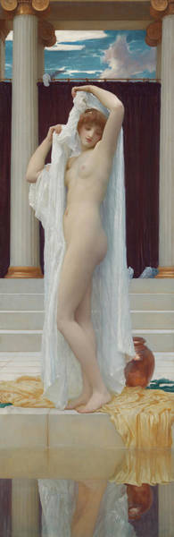 Wall Art - Painting - Lord Frederic Leighton  by Lord Frederic Leighton