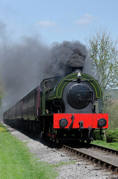 Photograph - Lord Phil On The Pull by Steam Train