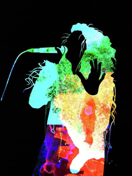 Pop Mixed Media - Lorde Watercolor II by Naxart Studio