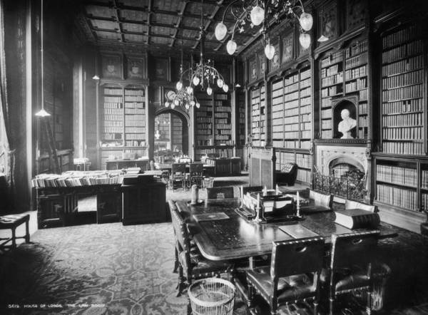 Publication Photograph - Lords Library by London Stereoscopic Company