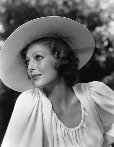 Photograph - Loretta Young by Hulton Archive