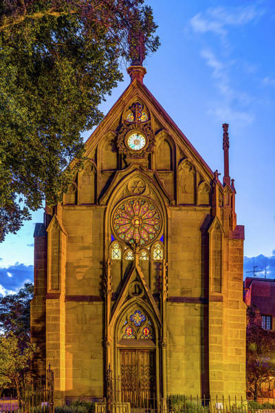 Wall Art - Photograph - Loretto Chapel Of Santa Fe New Mexico by Gregory Ballos