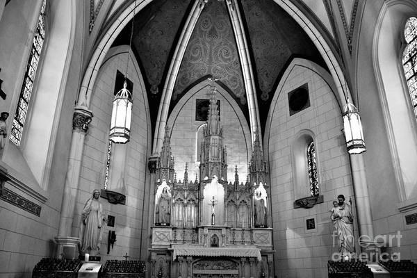 Loretto Chapel Photograph - Loretto Chapel by Suzanne Wilkinson