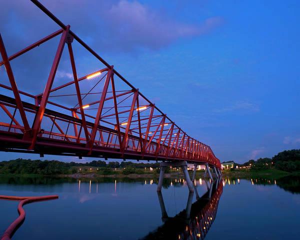 Photograph - Lorong Halus Riverside Walk by Pang Tze Ru