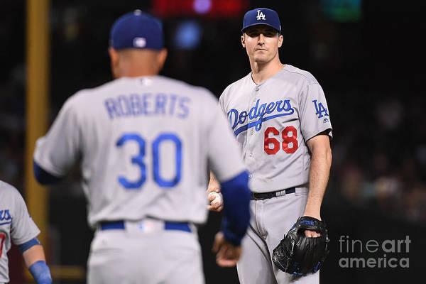 Photograph - Los Angeles Dodgers V Arizona by Jennifer Stewart