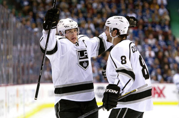Los Angeles Kings Photograph - Los Angeles Kings V Vancouver Canucks - by Rich Lam
