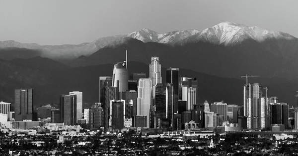 Wall Art - Photograph - Los Angeles Monochrome by April Reppucci