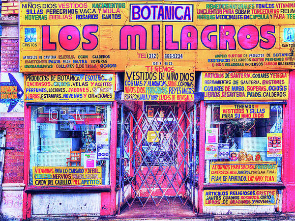 Photograph - Los Milagros by Dominic Piperata