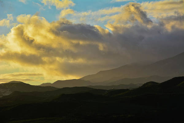 Photograph - Los Padres National Forest Sunset by Kyle Hanson
