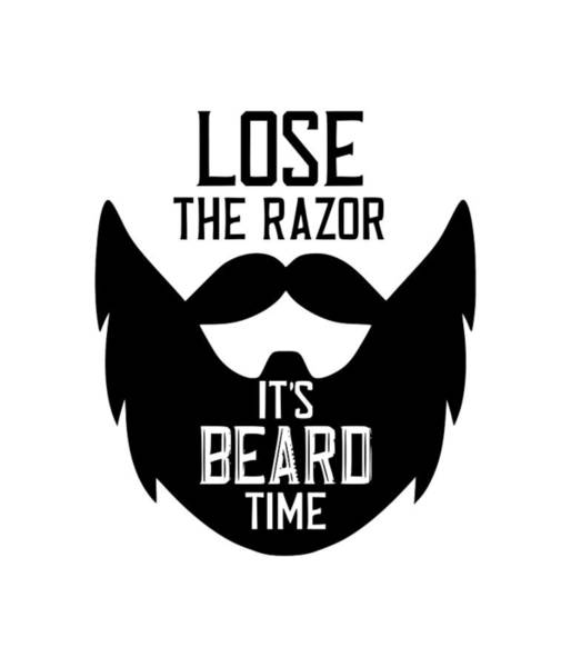 Hardrock Digital Art - Lose The Razor by Tee Titan