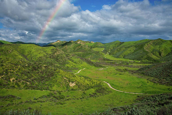 Photograph - Lost Canyon Rainbow In Simi Valley by Lynn Bauer
