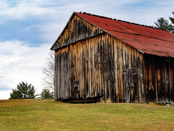 Photograph - Lost Creek Barn Red Roof I by Marianne Campolongo