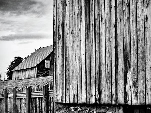 Photograph - Lost Creek Barns 2 by Marianne Campolongo