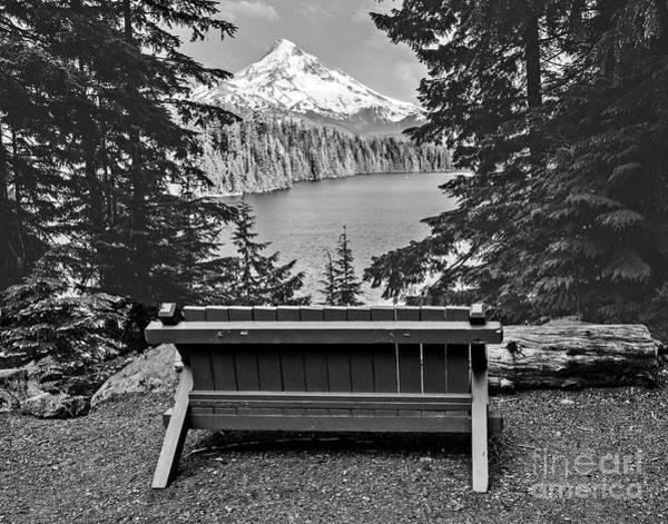 Wall Art - Photograph - Lost Lake Viewpoint by Jim Chamberlain