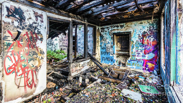 Photograph - Lost Place, Thessaloniki by Lyl Dil Creations
