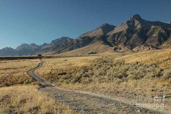 Wall Art - Photograph - Lost River Range Road by Idaho Scenic Images Linda Lantzy