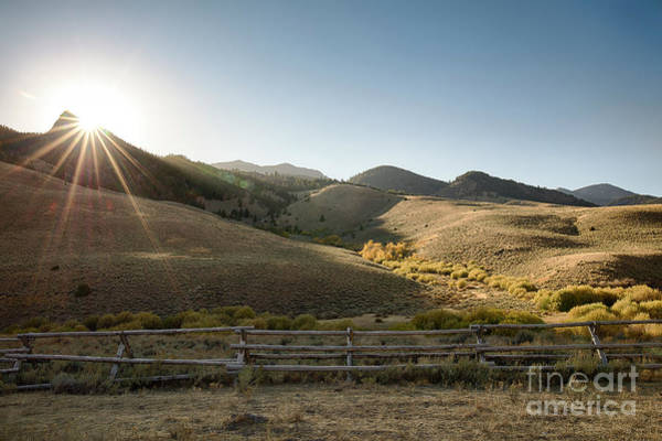 Wall Art - Photograph - Lost River Sunset by Idaho Scenic Images Linda Lantzy