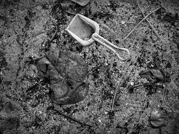 Photograph - Lost Toy Shovel by Robert Stanhope