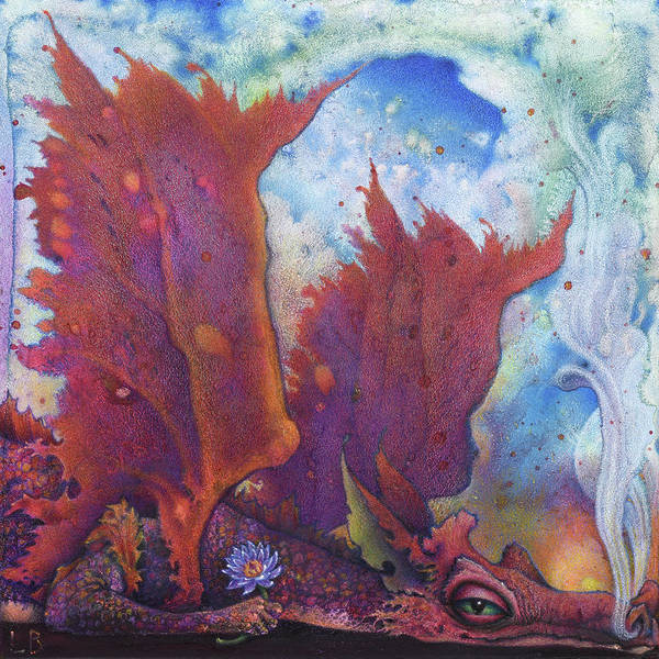 Painting - Lotos by Lynn Bywaters