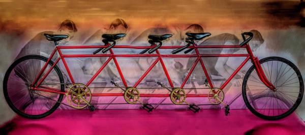 Photograph - Lots Of Wheels by Debra and Dave Vanderlaan