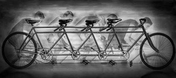 Photograph - Lots Of Wheels In Black And White by Debra and Dave Vanderlaan