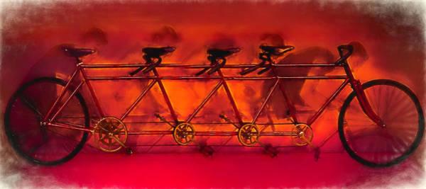 Photograph - Lots Of Wheels Painting by Debra and Dave Vanderlaan