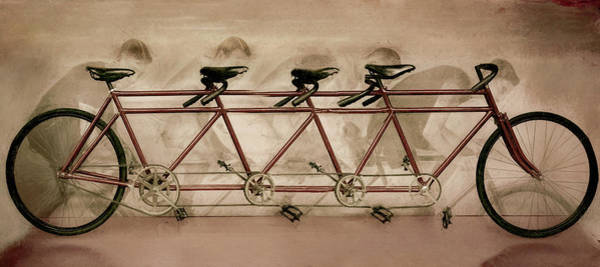 Photograph - Lots Of Wheels Vintage Art by Debra and Dave Vanderlaan