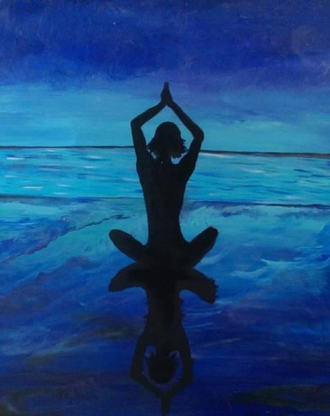 Painting - Lotus  by Jennah Lenae