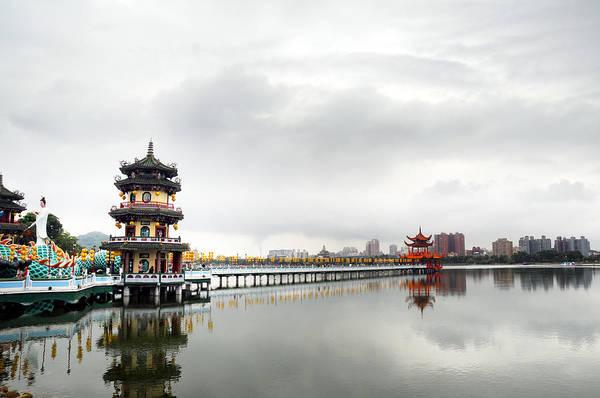 Wall Art - Photograph - Lotus Lake In Kaohsiung by El Huang Photography