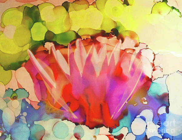 Painting - Lotus Zen by Shelley Myers