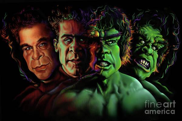 Lou Ferrigno Hulk Art Print