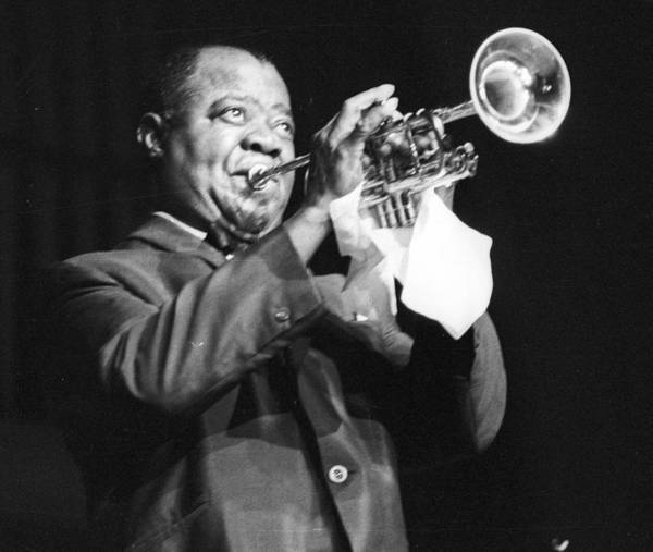 Photograph - Louis Armstrong At Ann Arbor by Tom Copi