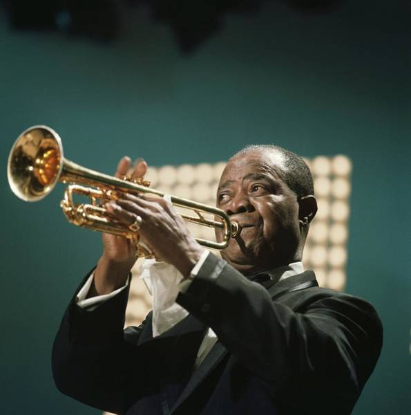 People Photograph - Louis Armstrong by David Redfern
