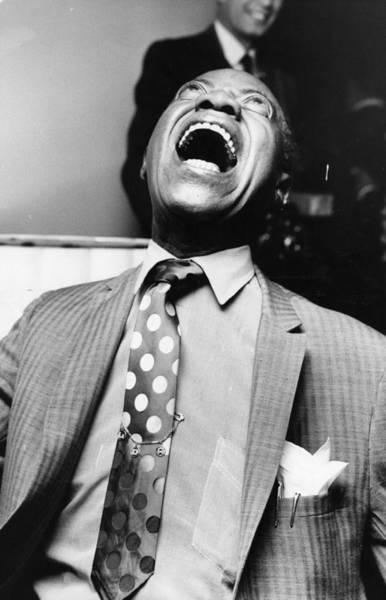 Photograph - Louis Armstrong by John Minihan