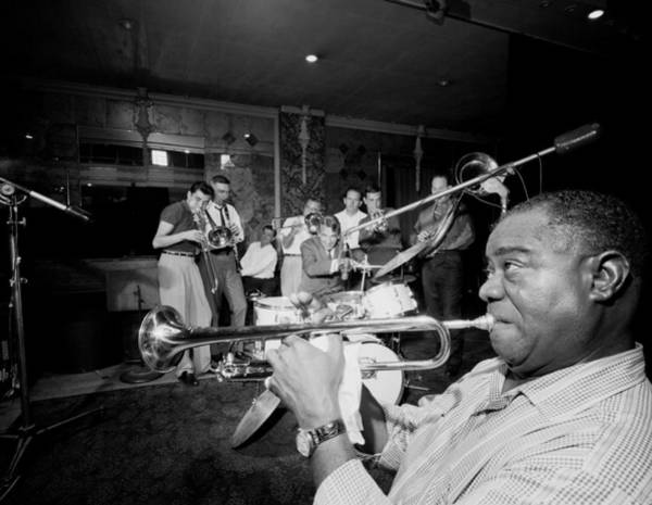 Photograph - Louis Armstrong R., Who Reshaped Jazz by New York Daily News Archive