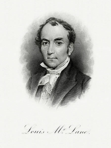 Matter Painting - Louis Mclane by The Bureau of Engraving and Printing
