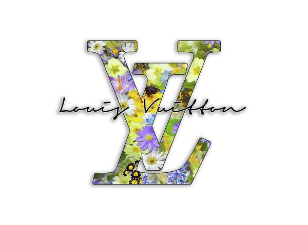 Wall Art - Photograph - Louis Vuitton Floral Series by Ricky Barnard