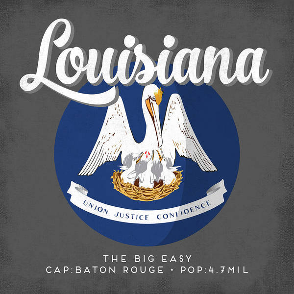 Louisiana Digital Art - Louisiana Defined by Flo Karp