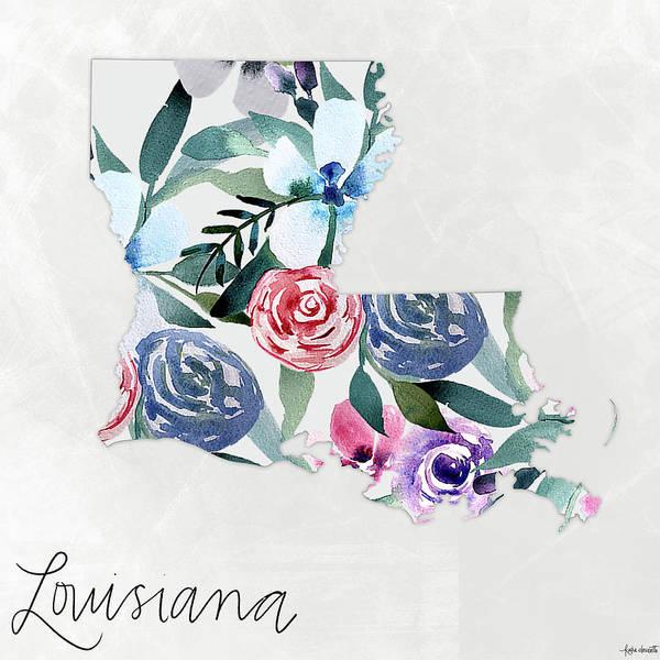Wall Art - Mixed Media - Louisiana by Katie Doucette