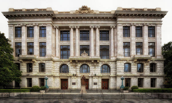 Photograph - Louisiana Supreme Court by Susan Rissi Tregoning