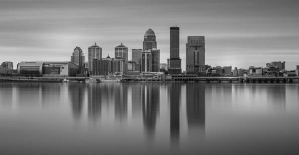 Photograph - Louisville Black And White Long Exposure by Dan Sproul