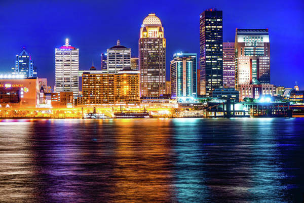 Photograph - Louisville Ky Skyline At Dusk by Gregory Ballos