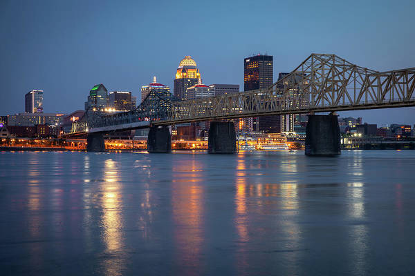 Photograph - Louisville Skyline  by Harriet Feagin