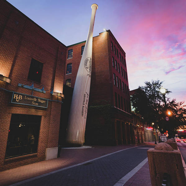 Photograph - Louisville Slugger Baseball Bat Museum And Factory by Gregory Ballos