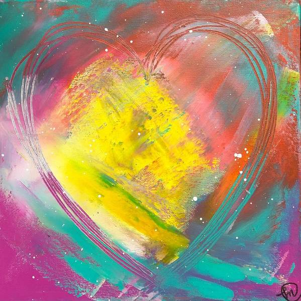 Painting - Love Always by Monica Martin